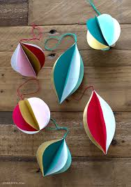 retro paper ornaments lia griffith