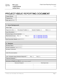 it issue report template it issue report template 2 professional and high quality templates