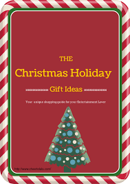 Holiday Gift Ideas Christmas Holiday Gift Ideas For The Entertainment Lover