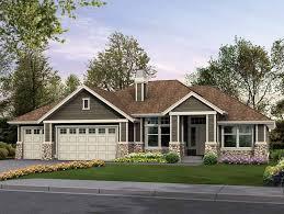 4 bedroom craftsman house plans rambler for family living hwbdo14844 craftsman