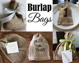 burlap favor bags favors with burlap bags