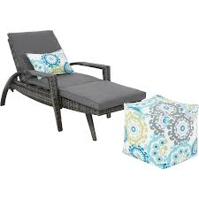 Outdoor Lounge Chair Ink Ivy Ii145 0155 Anna Outdoor Lounge Chair Convertible To