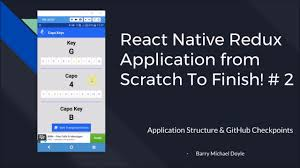 github tutorial key react native redux tutorial 2 application structure github
