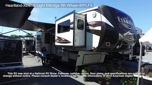 heartland elkridge extreme light heartland xtreme light elkridge 5th wheel 40flfs youtube