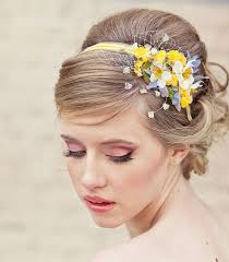 Flower Decorations For Hair Best 25 Sunflower Headband Ideas On Pinterest Sunflower Wedding