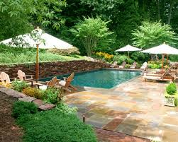 remarkable small backyard with pool new at dining table collection