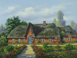 houses meditation country house medattion english cottage