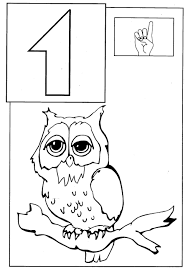coloring pages for kids number four 4 coloring pages with number