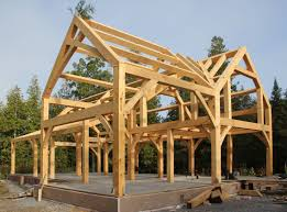 building an a frame cabin a timber frame house for a cold climate part 1