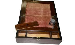 Lap Desk With Storage Compartment Civil War Era Mahogany Writing Lap Desk U2014 Horse Soldier