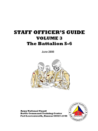 s 6 staff officers guide staff military intelligence