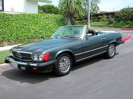 mercedes classic convertible 1987 mercedes benz 560 sl convertible hard and soft top super