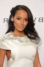 Half Up Half Down Hairstyles Black Hair Selita Ebanks Romantic Black Half Up Half Down Hairstyle For