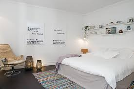 Eclectic Bedroom Decor Ideas N Urban Apartment With Terrrace Modern Eclectic Bedroom In White