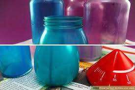 how to tint bottles and jars 13 steps with pictures wikihow