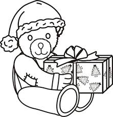 free christmas coloring page penguin and presents free coloring pages for christmas christmas