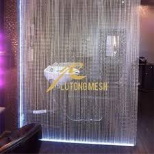 Chain Room Dividers - aluminum chain link curtain for room divider for sale u2013 aluminum