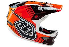 troy lee designs motocross helmets troy lee designs 2016 helmet d3 carbon orange black alltricks com