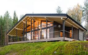chalet house house model collection lumi polar