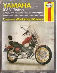 yamaha xv v twins 81 94