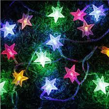 Wedding Home Decor 5m 28 Led Pentagram String Fairy Light Multicolor Wedding Party