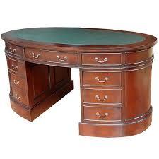 bureau style anglais bureau ovale style anglais acajou massif witton meuble de style