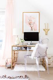 white and gold office desk 15 gorgeous ghost chairs