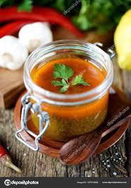 cuisine coriandre sauce traditionnelle de viande ou de poisson de coriandre persil