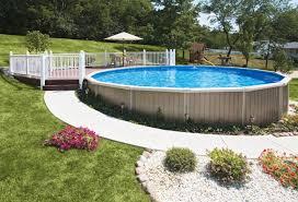 semi inground swimming pool kits pool ideas pinterest