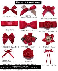 ribbons and bows different pattern of ribbon bows news changle anrui ribbon factory