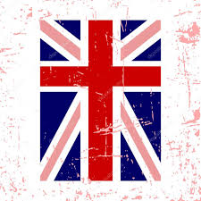 British Flag With Red British Flag Vertical U2014 Stock Vector Alona S 119758324