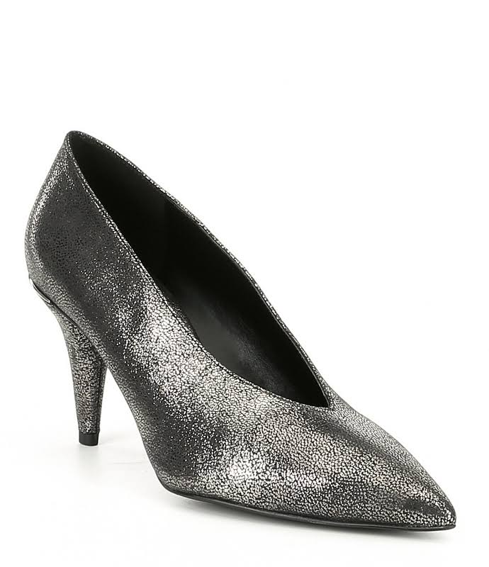 Michael Kors Lizzy Mid Pumps, Sterling,