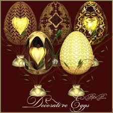 decorative eggs 5 beautiful ornamental eggs for commercial or non