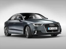 audi automobile models audi a3 sedan 2017 3d cgtrader