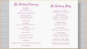wedding reception programs 7 wedding reception program formal letter