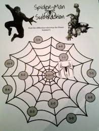 free spider man basic number game prekautism