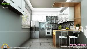 modern kitchen design kerala study room modern kitchen living interior kerala home