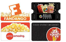 amc gift cards save 10 on fandango regal amc gift cards and more