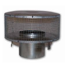 8 u0027 u0027 fmi round chimney cap with mesh screen northline express