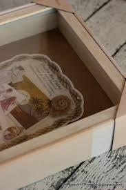 How To Put A Box Together Adventures In All Things Food How To Create A Personalized Shadow Box