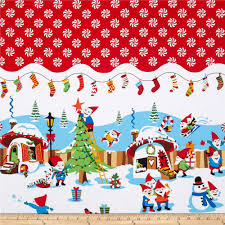 christmas fabric cotton print fabric by the yard fabric com