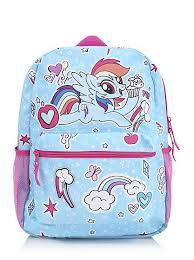my pony purse my pony rainbow dash rucksack kids george at asda