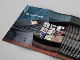 free tri fold business brochure templates tri fold business brochure freebie indt eps by partho