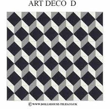 art deco flooring dollhouse miniatures dollhouse tiles flooring art deco d