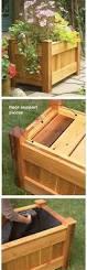 Homemade Planter Boxes by Diy Planter Box Bench Diy Planter Box Free Printable And Planters
