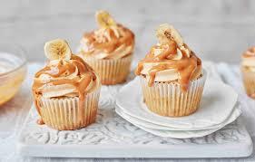 cupcakes recipe banana caramel and cashew butter cupcake cupcake recipes tesco