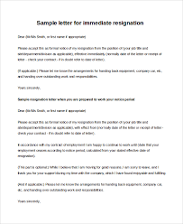 job resignation letter new job offer resignation letter with