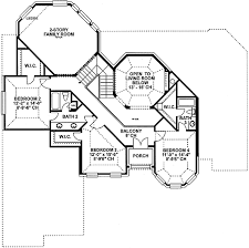 Floor Plan Castle Castle Like Demeanor 40850db Architectural Designs House Plans