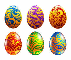 easter eggs set of easter eggs vector illustration free vector graphics