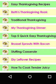 best thanksgiving day recipes android apps on play
